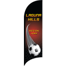 AYSO Region 1422 Laguna Hills Custom Double-Sided Team Wind Flag