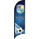AYSO Region 213 North Irvine Custom Double-Sided Team Wind Flag