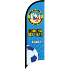 AYSO Region 57 Corona Del Mar Custom Double-Sided Team Wind Flag