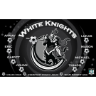 White Knights Custom Vinyl Banner