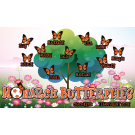 Monarch Butterflies Custom Vinyl Banner
