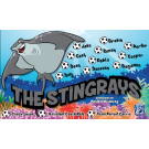 The Stingrays 2 Custom Vinyl Banner