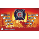 Chicago Fire (Boys) Custom Vinyl Banner