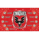 DC United (Girls) Custom Vinyl Banner