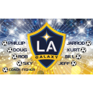 LA Galaxy (Boys - Alternate) Custom Vinyl Banner