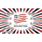 New England Revolution 2 Custom Vinyl Banner