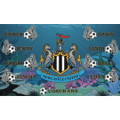 Newcastle United 2 Custom Vinyl Banner