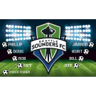 Seattle Sounders FC (Boys) Custom Vinyl Banner