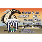 West Bromwich Albion (Bird) Custom Vinyl Banner