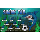 Shark Tail Custom Vinyl Banner