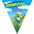Smurfettes Triangle Individual Team Pennant