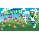 The Smurfettes Custom Vinyl Banner