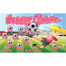 Soccer Chicks Custom Vinyl Banner