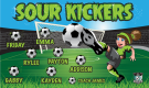 Sour Kickers Custom Vinyl Banner