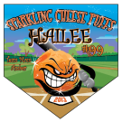 Sparkling Cheese Puffs Home Plate Individual Team Pennant