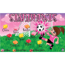 Starbursts Custom Vinyl Banner