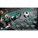 Strikers (Girl) Custom Vinyl Banner