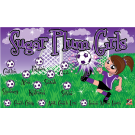 Sugar Plum Girls Custom Vinyl Banner