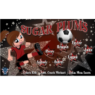 Sugar Plums Custom Vinyl Banner