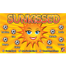 Sunkissed Custom Vinyl Banner
