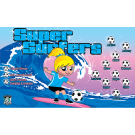 Super Surfers Custom Vinyl Banner