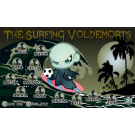 The Surfing Voldemorts Custom Vinyl Banner