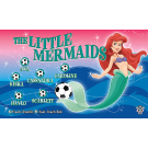 The Little Mermaids Custom Vinyl Banner