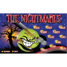 The Nightmares Custom Vinyl Banner