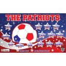 The Patriots Custom Vinyl Banner