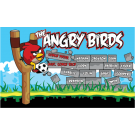 Angry Birds (Red Alternate) Custom Vinyl Banner