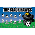 The Black Hawks 2 Custom Vinyl Banner