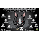 The Black Rhinos Custom Vinyl Banner