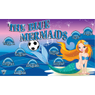 The Blue Mermaids Custom Vinyl Banner