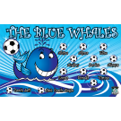 The Blue Whales Custom Vinyl Banner