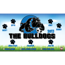 The Bulldogs 1 Custom Vinyl Banner
