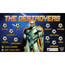 The Destroyers Custom Vinyl Banner
