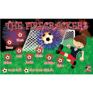 The Firecrackers 1 Custom Vinyl Banner