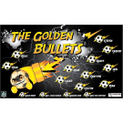 The Golden Bullets Custom Vinyl Banner