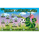The Green Caterpillars Custom Vinyl Banner