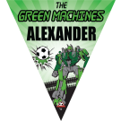 The Green Machines Triangle Individual Team Pennant