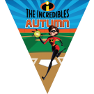The Incredibles Triangle Individual Team Pennant