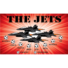 The Jets Custom Vinyl Banner