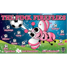 The Pink Fireflies Custom Vinyl Banner