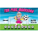 The Pink Warriors 1 Custom Vinyl Banner