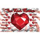 The Red Rubies Custom Vinyl Banner