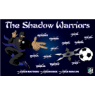 The Shadow Warriors Custom Vinyl Banner