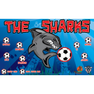 The Sharks 6 Custom Vinyl Banner