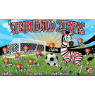 The Sunburned Zebras Custom Vinyl Banner