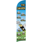 The Swarm Custom Double-Sided Team Wind Flag