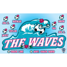 The Waves Custom Vinyl Banner